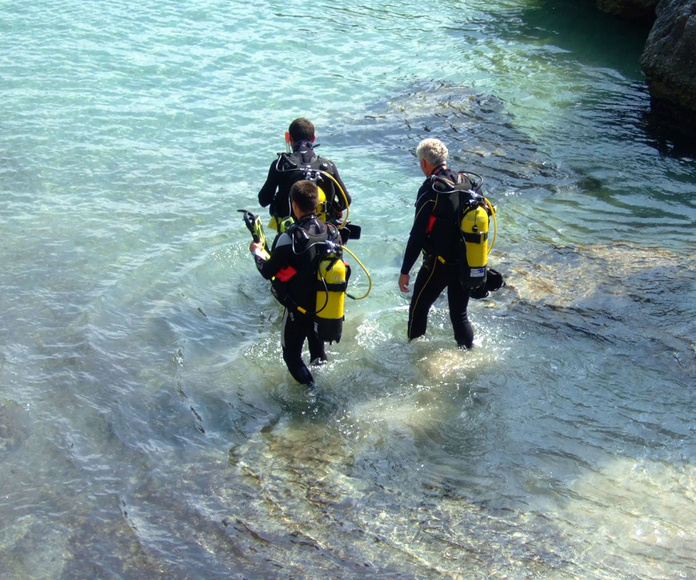 Scuba Plus buceo en Menorca - Try Scuba Diving