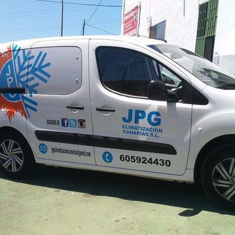 Servicios eléctricos: Servicios y Productos de JPG Climatización Canarias