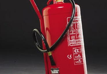 Extintor de Polvo (carro) 25kg y 50kg