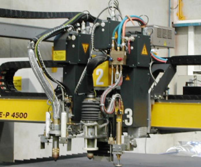 Corte de chapa : Productos y servicios  de Talleres Mecánicos Galicia