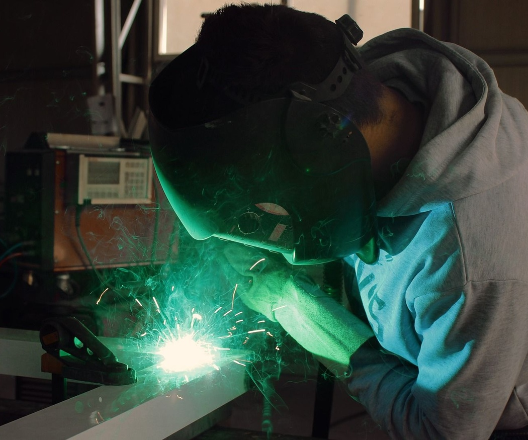 Cómo soldar en acero galvanizado
