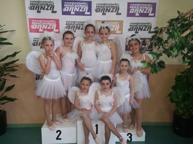 Pequeñajos se viene del Concurso Nacional de Danza con premio!