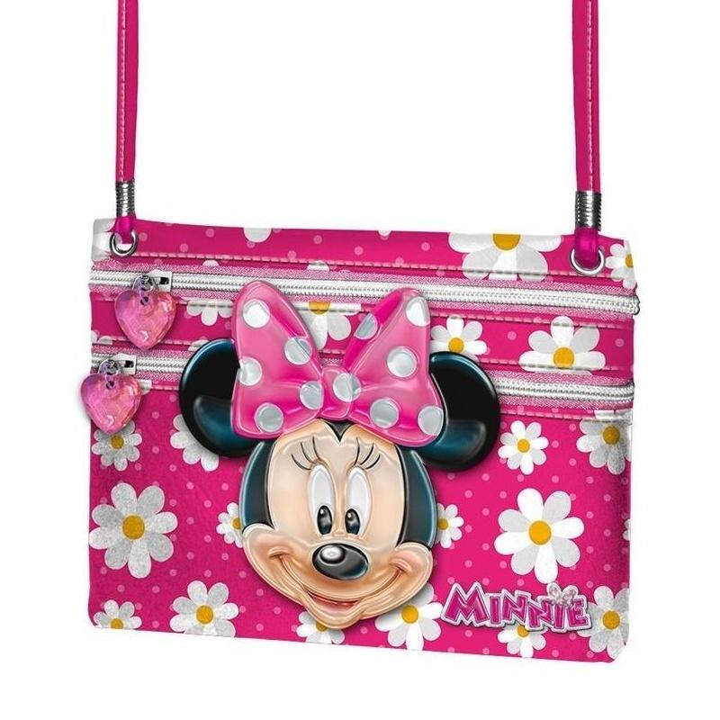 Bandolera bolso Action Minnie Disney Flowers  8435376327154
