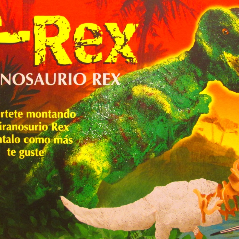CREATIVITY FOR KIDS. MONTA TU TIRANOSAURIO REX