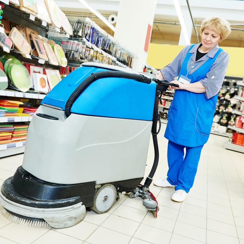 Limpieza en centros comerciales: Servicios de Limpiezas Pina