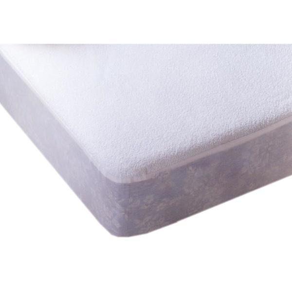 Protector de colchón de rizo y poliuretano