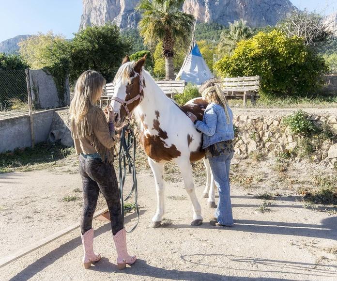 Coaching con Caballos: Terapias de QoriSalud, Bienestar Integral en Polop de la Marina
