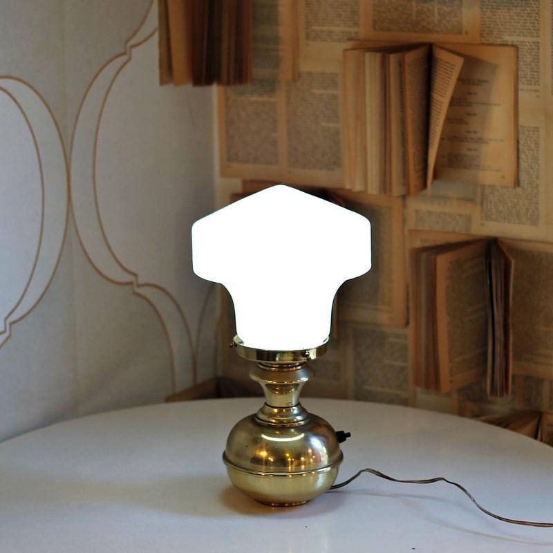 Lámpara de mesa antigua:  de Ruzafa Vintage