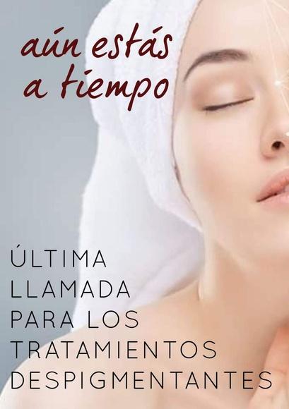 Tratamiento despigmentante facial en Las Palmas