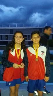 Elena García, oro y Sergio Sarmiento bronce con las selecciones madrileñas en el Campeonato de Españ