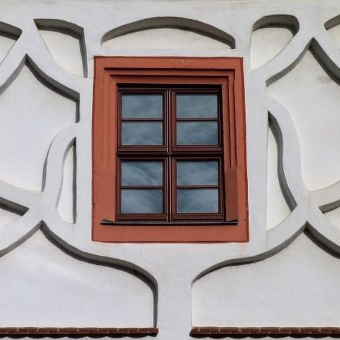 Las ventanas de aluminio madera