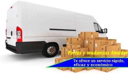 Servicios de pequeñas mudanzas en Málaga y a toda España.