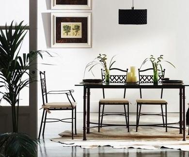 Muebles de forja Sevilla