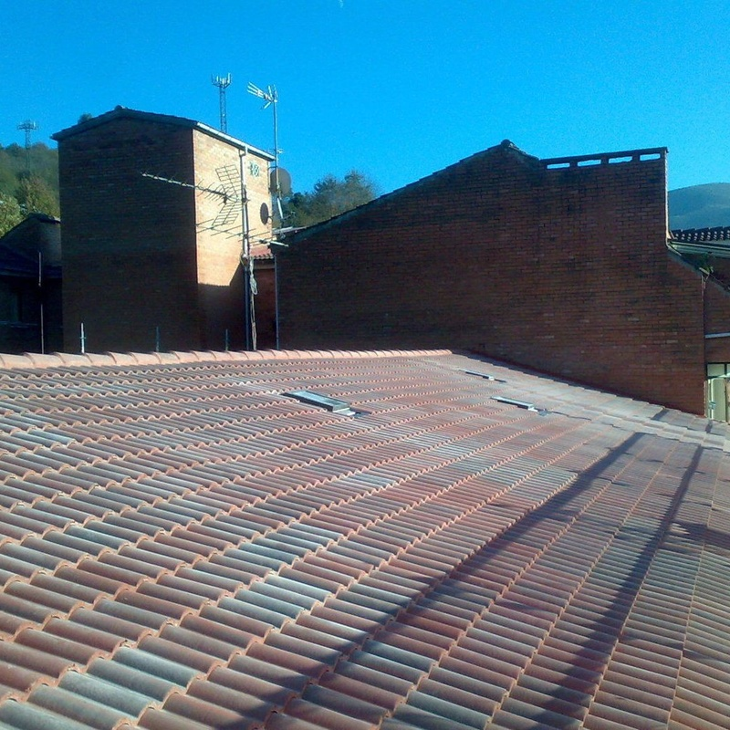 Reforma de cubiertas y tejados Asturias: Reformas y rehabilitación de Molina Construcciones