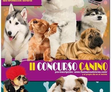 II Concurso canino. Los Dolores, Cartagena, Murcia