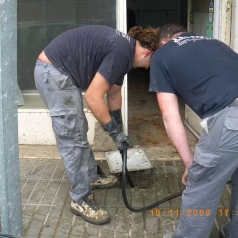 Localización arquetas: Trabajos realizados  de Desatascos y Extracciones Merino