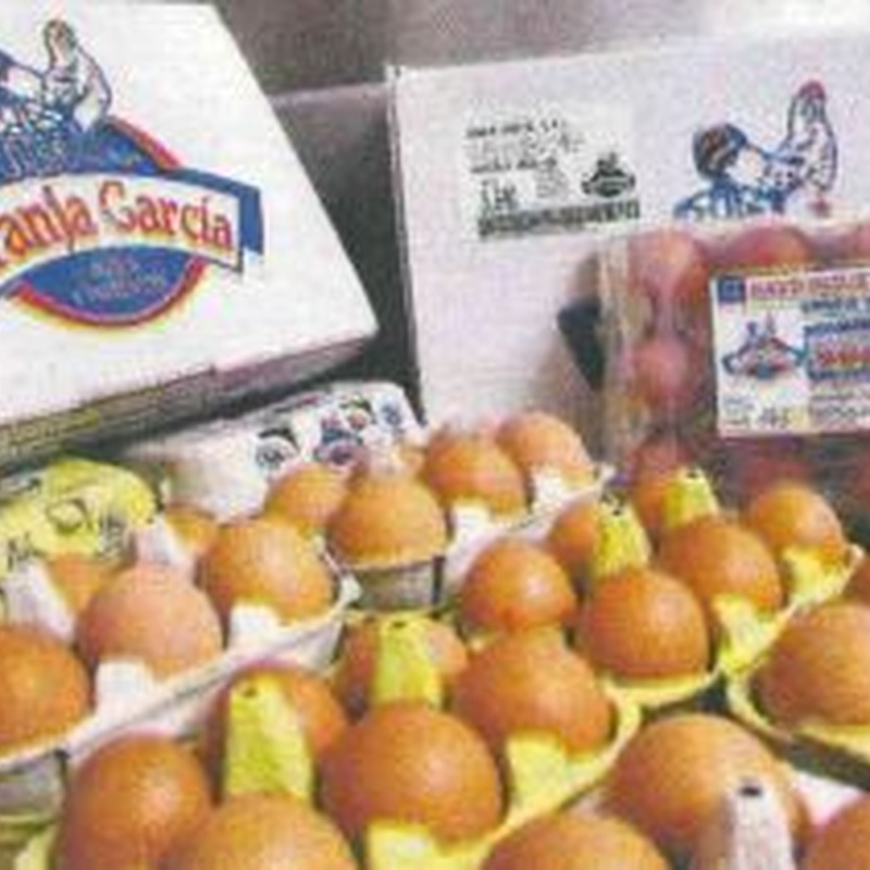 Huevos: Catálogo de Granja García