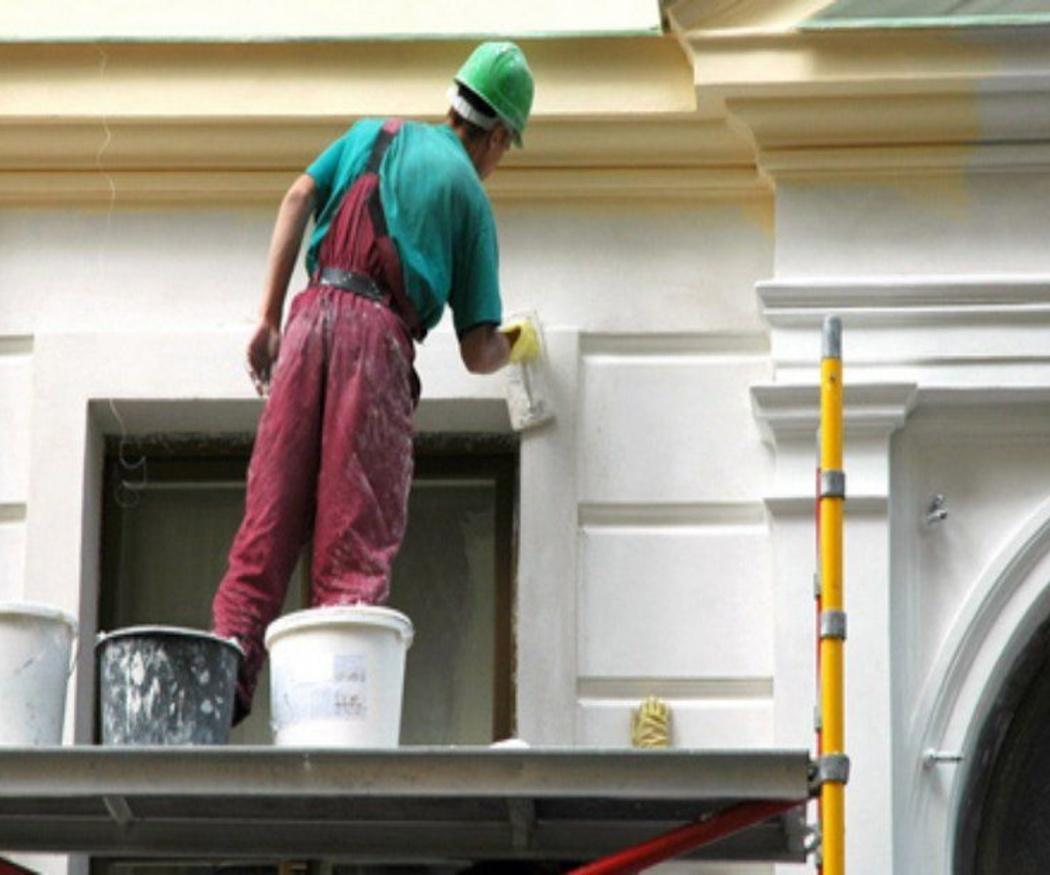La pintura más tradicional para las fachadas