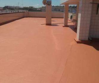 Impermeabilizacion con láminas asfalticas: Servicios y Materiales de Imperval