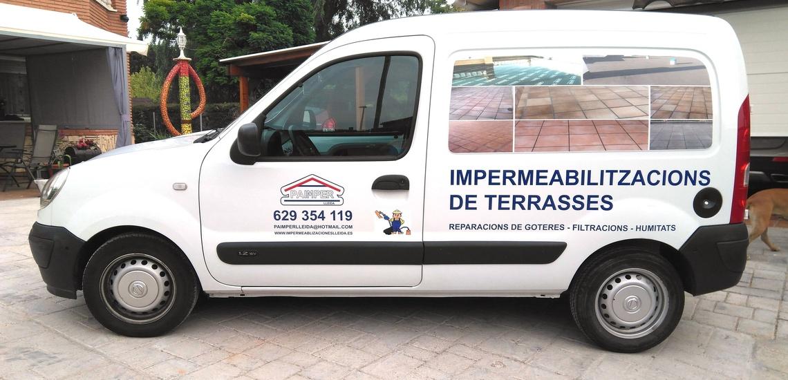 Paimper Lleida: impermeabilización con tela asfáltica en Lleida