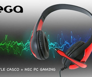 Omega Freestyle Casco + Mic PC Gaming