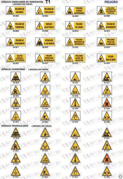 Señales de peligro: Servicios de Señalización y Serigrafía