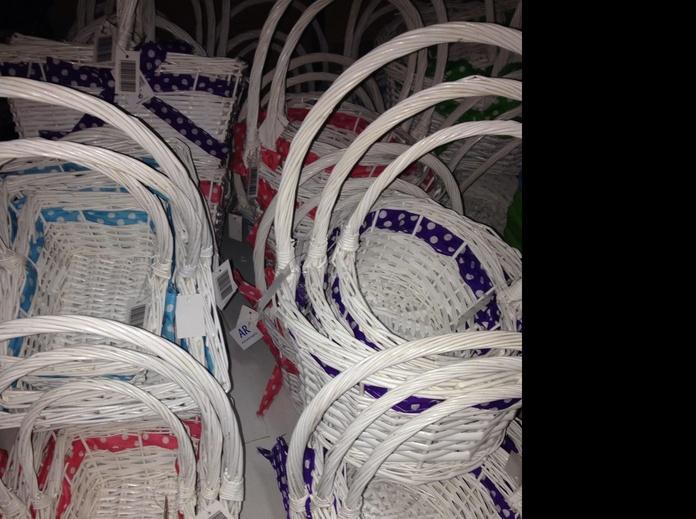 Conjunto de 3 cestas