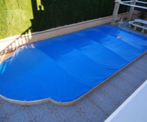 Lonas para cubrir y proteger piscinas