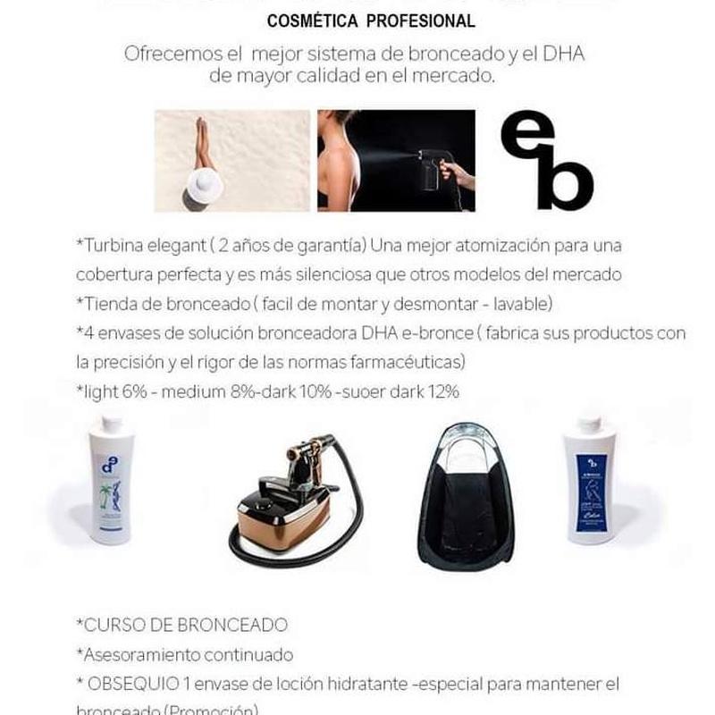 Venta de productos DHA bronceado caña de azucar: Servicios de Beauty Channel