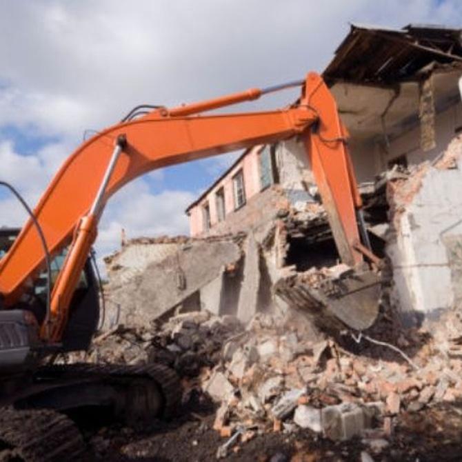 Diferencias entre derribo y demolición
