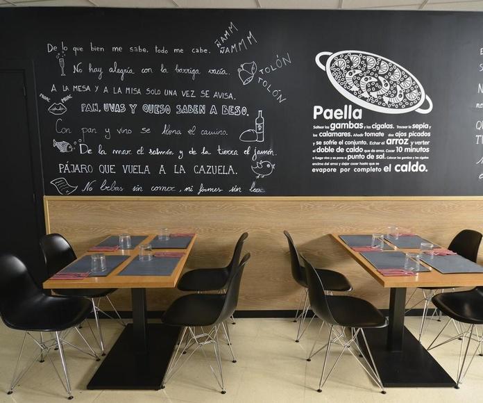 ATENCIÓN AGENCIAS DE VIAJES: Menús y Carta de Restaurante A la Cazuela