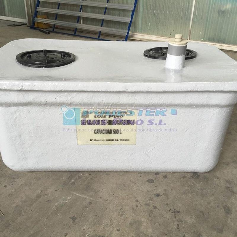 Separadores de hidrocarburos clase I: Servicios y Productos de Poliéster Luis Pino