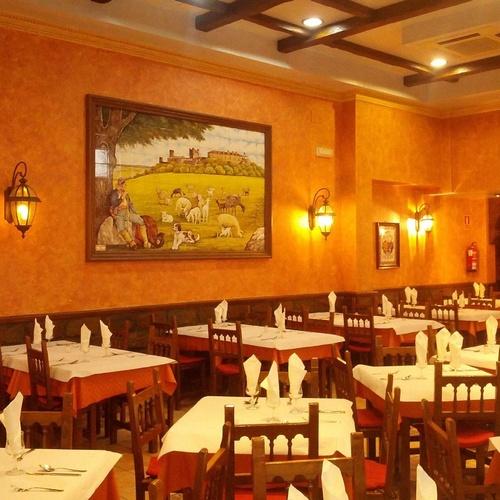 Salón interior de Restaurante Antonio