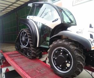 Càrrega de tractor, càrrega posterior