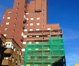 Antes y después de la rehabilitación de Fachadas Santander.: Trabajos. de Fachadas Cantabria