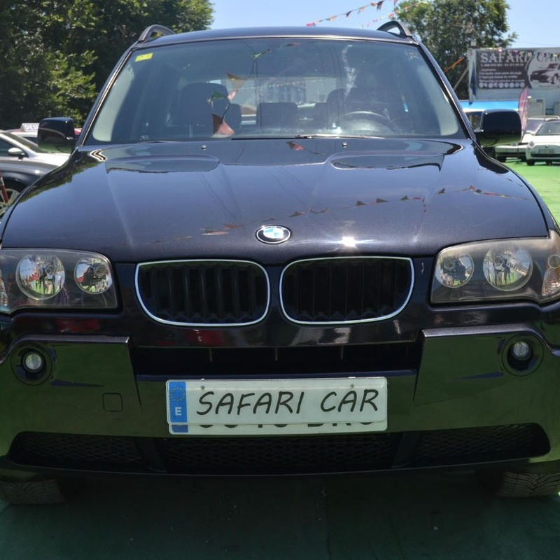 BMW X3 2.0d: Nuestros coches de Safari Car
