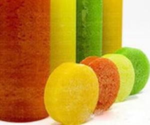 Esponja con Jabón aroma de Fruta de la Pasión y Aloe Vera