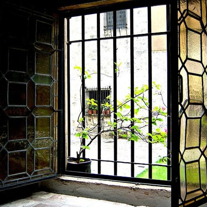 Las posibilidades decorativas de las vidrieras
