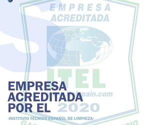 Empresa acreditada por el Instituto técnico español de limpieza
