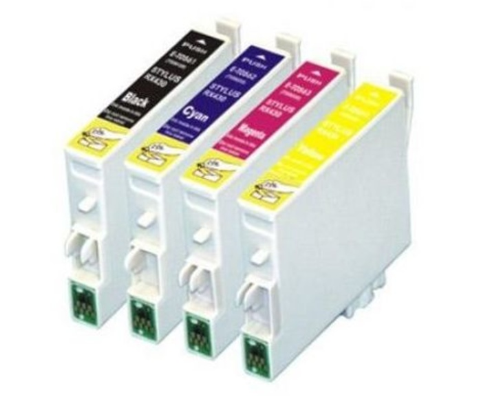 TINTA EPSON COMP ET1281 BLACK /1282CYAN/1283MAGENTA/1284AMARILLO: Productos y Servicios de Stylepc