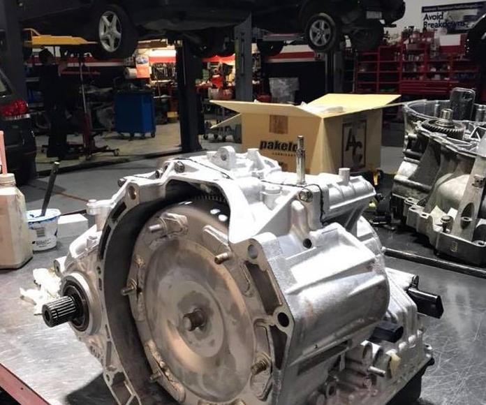 Caja Cambios Automatica TF-60: Servicios de FCM Cambios Automáticos
