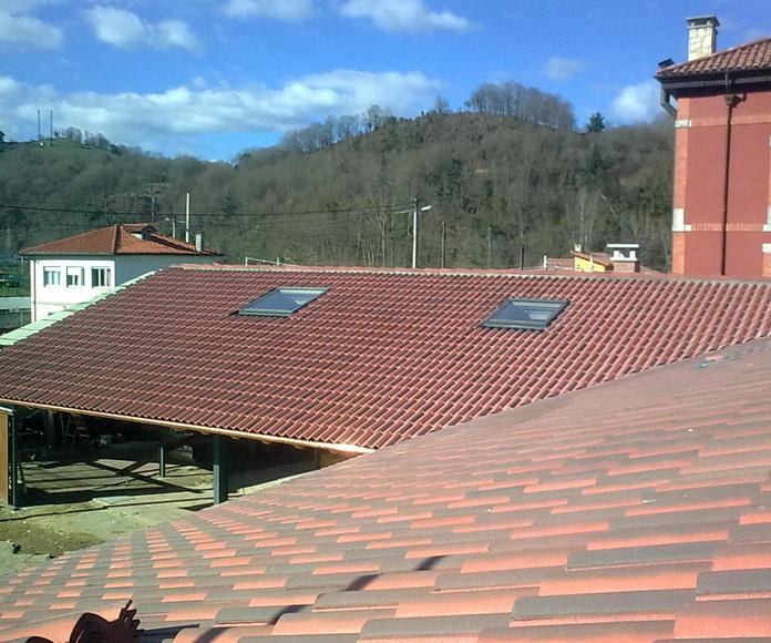 Rehabilitación de tejados: Reformas y rehabilitación de Molina Construcciones