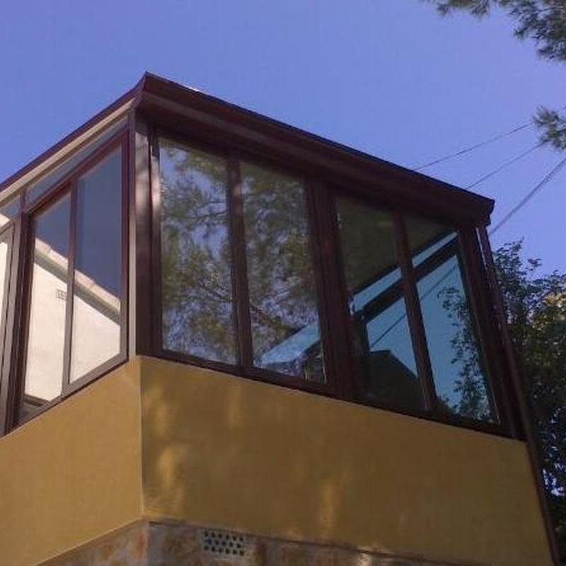 cerramientos con techo fijo: Productos y servicios de Mk Toldos
