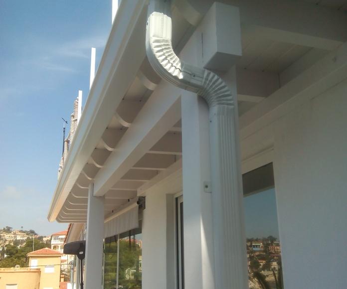 Canalones de Aluminio: Servicios de Vicente Canalones