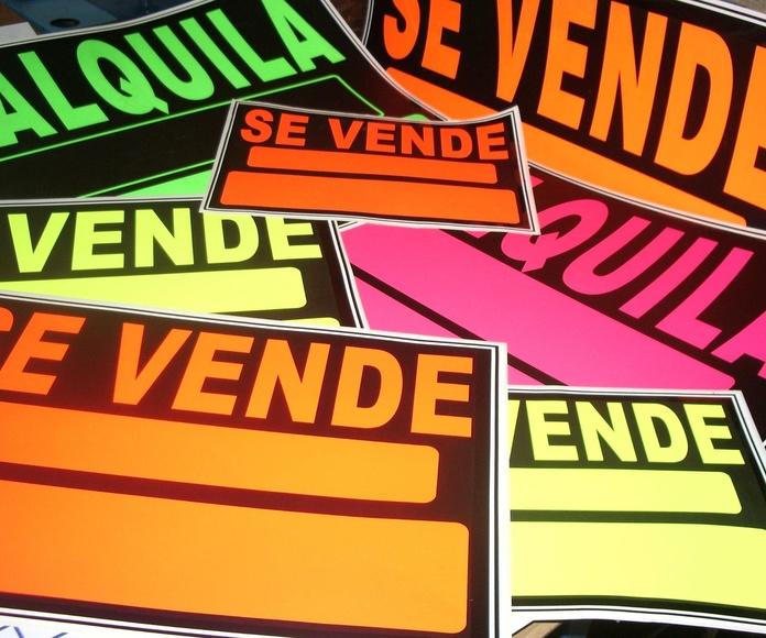 Carteles Se Vende, Se Alquila: Catálogo de Arteser Serigrafía