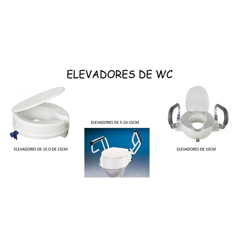 """ELEVADORES DE WC """"ALZA"""": Catálogo de Ortopedia Bentejui"""