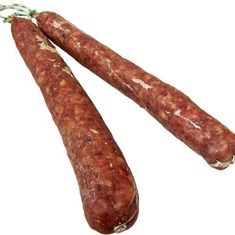 Salchichón casero: Productos de Cárnicas Carmona