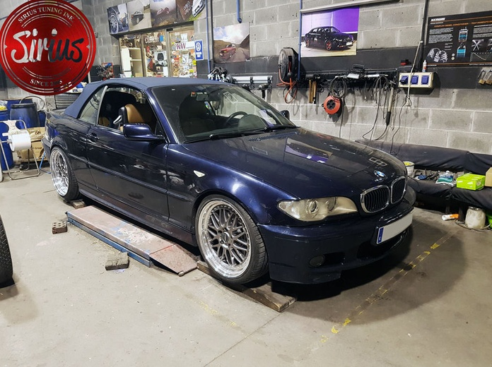 BMW E46 - BC Racing