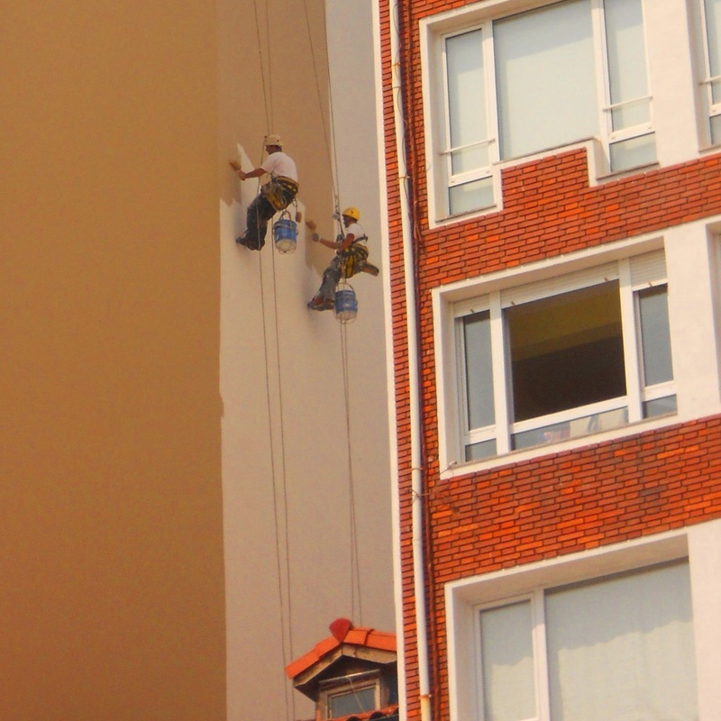 Trabajos verticales Torrelavega-Santander.