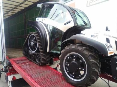 Carga de tractor, carga trasera